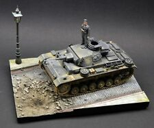DioDump DD081 Bombed street 1:35 scale diorama vignette afv vehicle display base