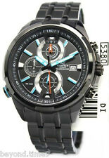 Casio Edifice EFR-536BK-1A2V Chronograph Men's Watch (1/10th Sec & Illuminator)