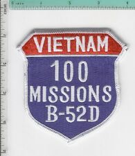 B52 B-52D BUFF 100 MISSIONS NORTH VIETNAM PATCH NEW USAF HANOI FREE SHIPPING