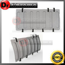 07-16 Jeep JK Wrangler Black Bug Screen Mesh Stainless Grille Insert Cover Grill