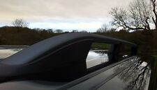 VW VOLKSWAGEN CADDY SWB BLACK ROOF RACK RAILS SIDE BAR SET BARS 2010+