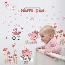 Gatos Lindos Gatitos Feliz Day Adhesivo Pared Pegatina Adhesiva Vinilo