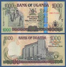L' Ouganda 1000 shillings 2008 unc p. 43 B