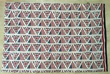 Tommy Hilfiger BRITISH UNION JACK AMERICAN FLAG Bed Pillowcase NEW