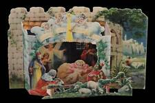 126] POP UP PRESEPE DI CARTA NATIVITY SCENE CRECHE  _ GLORIA IN EXCELSIS DEO