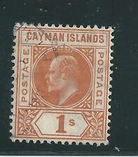 Cayman Islands - 1905 Definitive Issue - One Shilling value - Used