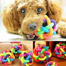 Puppy Pet Dog Dental Teething Healthy Teeth Chew Training Play Ball Toy Colorful