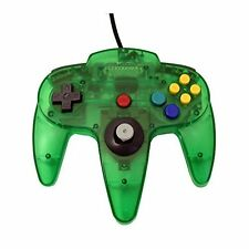 Transparent Jungle Green Replacement Controller For N64 By Mars Devices 1Z