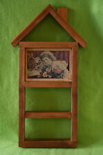Coca-Cola Decorative Shelf Original Handmade Framed Retro Photo Wood Wall Hang