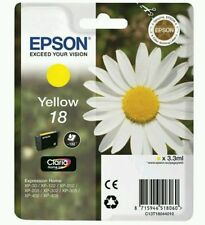T1804 ( 18 ) Genuine Yellow Ink Cartridge for Epson Expression Home XP-202