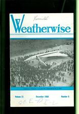 1968 Weatherwise Magazine: Supersonic Concorde 002/San Francisco Snowfall