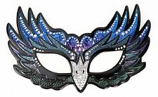 Raven Sequin Sparkle Nightwing Bird Mask Masquerade Costume Adult or Child