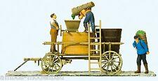 Preiser 30398 H0 Winzerwagen, stehend, Fertigmodell ! Neuware