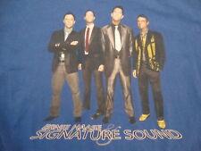 Ernie Haase And Signature Sound Gospel Quartet Dream Concert Tour T Shirt Size L