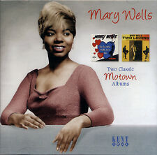 "MARY WELLS  ""THE ONE WHO REALLY LOVES YOU / TWO LOVERS""  2 CLASSIC ALBUMS"