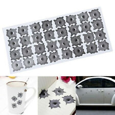 32 Bullet Hole Orifice Sticker Graphic Decal Shothole Car Helmet Windows