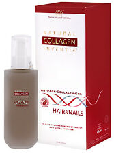 Natural Collagen Hair Serum 50ml Hair Growth Hair Loss FREE Derma Roller AU