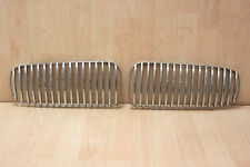 CHROME GRILLE INSERTS UPGRADE (Sovereign / Daimler) Jaguar XJ8 1997-2002 (#7140)