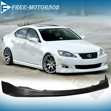 FOR 06-08 LEXUS IS250 IS350 JDM VIP FRONT BUMPER LIP SPOILER BODYKIT URETHANE
