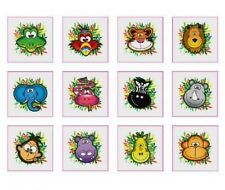 24 Temporary Jungle tatoos pack of 12 diferrent individual tatoos 4 Boys Girls