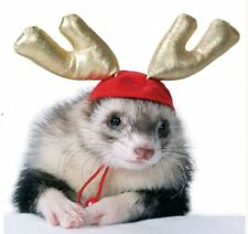 Marshall Ferret Toy Antler Hat - Holiday Antlers