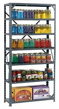 Heavy Duty Metal Steel 7 Shelf Shelving Garage Storage Organizer Bestproduct New