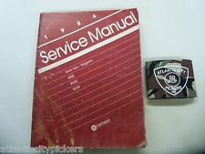 1984 CHRYSLER RAM VAN/ WAGONS B150 B250 B350 SERVICE SHOP REPAIR MANUAL