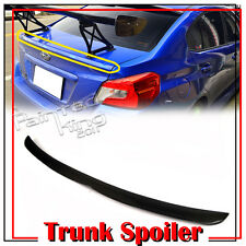 Carbon For Subaru WRX STI 4th Sedan 2016 OE Style Trunk Spoiler Sport Wing