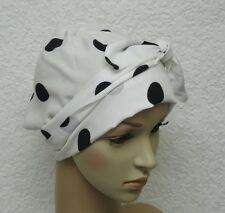Chemo head wear, surgical cap, bad hair day scarf, bonnet for short hair, tichel