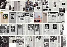 NEIL YOUNG : CUTTINGS COLLECTION -interviews adverts-