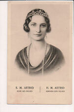 Vintage Postcard Princess Astrid of Sweden Queen of Belgium