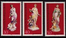 Germany Berlin 1974 Porcelin Figures SG B463/B465 MNH