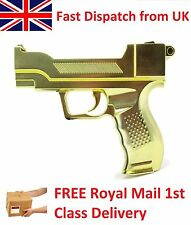 Venom Gold Pistol Hand Shooting Gun for Nintendo Wii Game Remote Controller