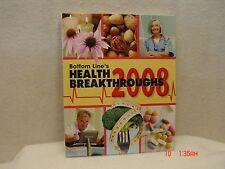 Bottom Line's Health Breakthroughs 2008