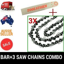 "14"" Guide Bar & 3 Saw Chains Fits Stihl 017 MS170 MS171 MS180 MS181 Chainsaw"