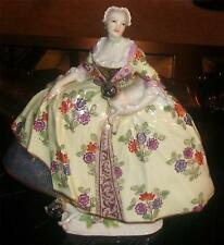 Meissen Antique Lady of the Mopsorden Masonic Secret Society Figure - JJ Kandler