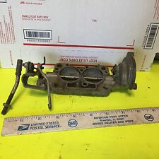 Studebaker and other, throttle body, 2 venturi, aluminum.    Item:  5836