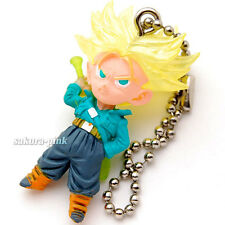 Trunks Super Saiyan DragonBall UDM 09 mini Figure Key Chain Authentic BANDAI JPN