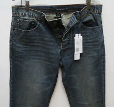 Calvin Klein Rocker Men Jeans 32 W x 32 Slim Fit Straight Leg New with Tags