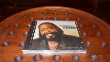 Barry White : Let the Music Play  Cd ..... New
