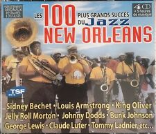 Les 100 Plus Grands Succès du Jazz New Orleans - Coffret 4 CD