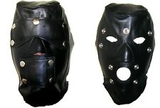 AW901 Original Leather Hood,Detached Blindford,Leather mask,ledermaske,Masque
