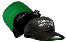 New COMME des FUCKDOWN Snapback Curved Bill Hat Cap Baseball Snapback