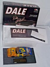 DALE EARNHARDT SR The Movie 1:24 NASCAR 1986 Wrangler Wiper Mud Action RCCA MIB