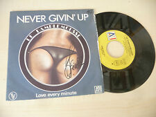 "LE PAMPLEMOUSSE"" NEVER GIVIN UP- disco 45 giri AI It 1980"" SEXY COVER-"