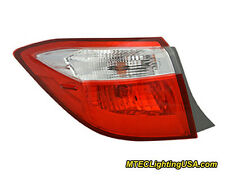 TYC Left Outer Side Tail Light Lamp Assembly for Toyota Corolla 2014-2015