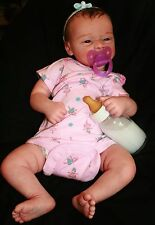 Reborn Newborn Doll CUSTOM MICHELLE kit by E.Wosnjuk BABY BOY or GIRL 0-3 mos.