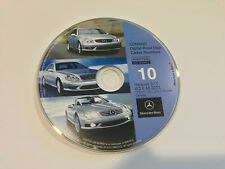 2010 Update for Mercedes CD Base Navigation Map #10 Cover ONLY Canada