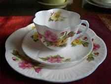 SHELLEY Fine Bone China     BEGONIA TRIO, # 13427