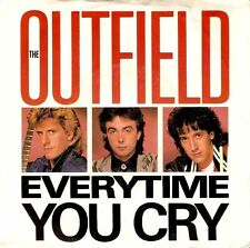 """THE OUTFIELD Everytime You Cry 7"""" Single Vinyl Record Demo US Columbia 1985 EX"""